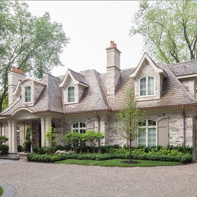 Best 25 stone home exteriors ideas on pinterest house - French country exterior house colors ...