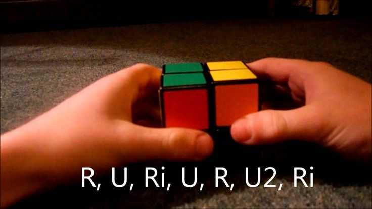 How Solve A 2x2x2 Rubik's Cube [EASIEST & FASTEST WAY]