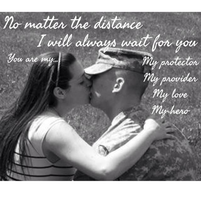 Military Love Quotes For Him: Army Military Love Quotes. QuotesGram