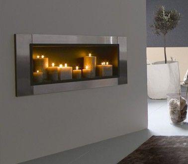 Peinture grise mat poudr dans salon moderne tollens for Peinture dans salon