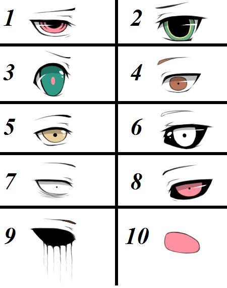 1.Red Angel, 2.Lea-Lu 3.Dolly-Doll 4.Veit Broken 5.Natsuki Akira 6.Lilith Star 7.Jeff The Killer 8.Ben drowned 9.Eyeless Jack 10.Hoody