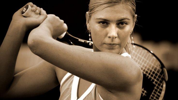 Maria Sharapova Biography   Famous Tennis Players Female American