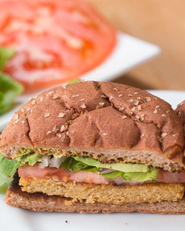 Sárgarépa & amp;  Csicseriborsó vega Burger