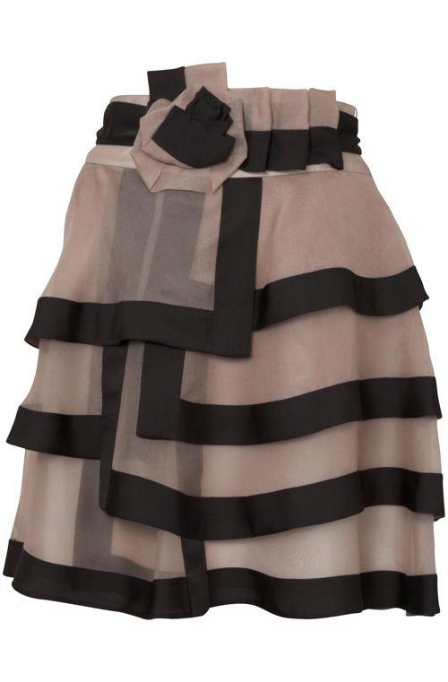 Sassy organza skirt by Coast