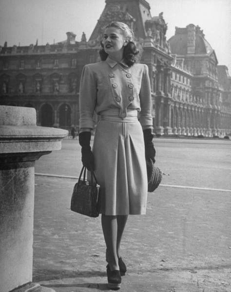 Советская мода 40 х годов 86