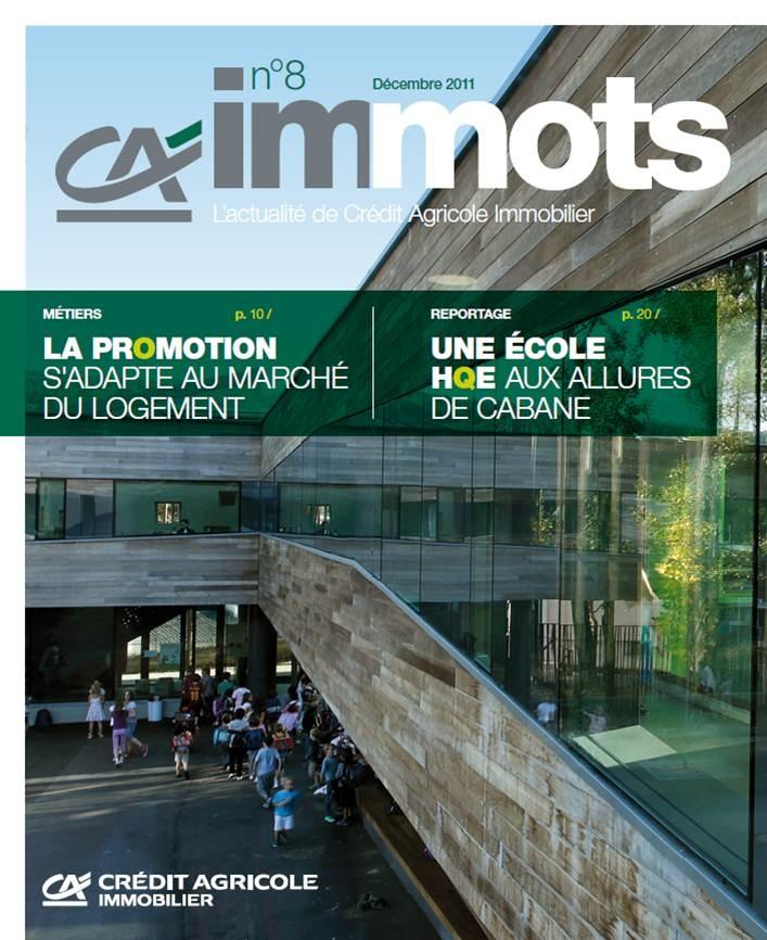 Crédit Agricole - Magazine Interne CA immots