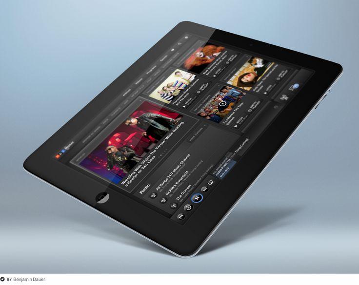 NPR iPad app: Design Inspiration, Npr Music, Music Ipad, Npr Ipad, Ipad App