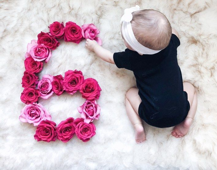 Watch Rosie Grow Month 6 Weekends Baby Photoshoot Girl 6 Month Baby Picture Ideas Baby Girl Photos