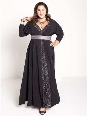 Sabina Plus Size Gown