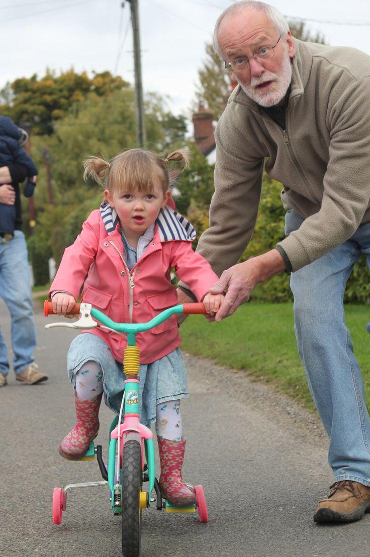 first bike ride #photography #kids