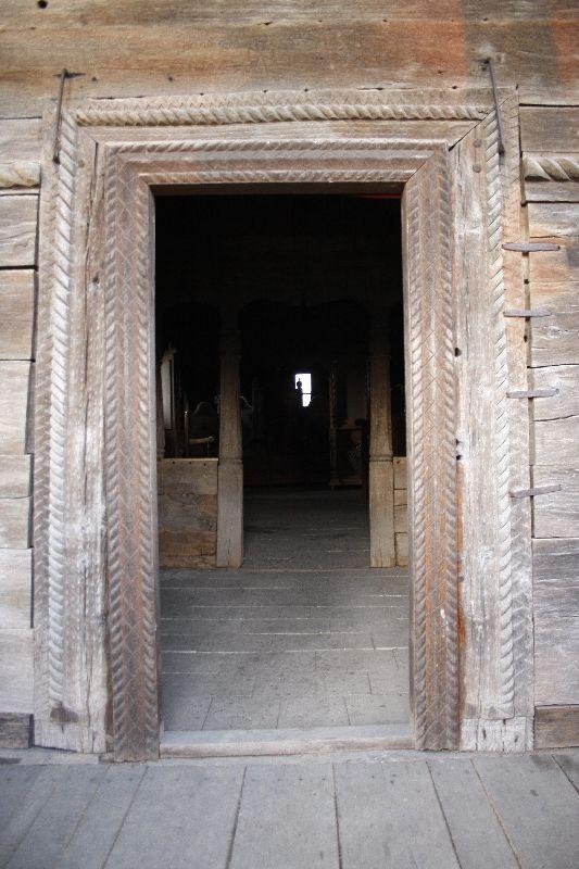 """Biserica de lemn """"Sfântul Nicolae"""" - comuna Străoane, judetul Vrancea…"""