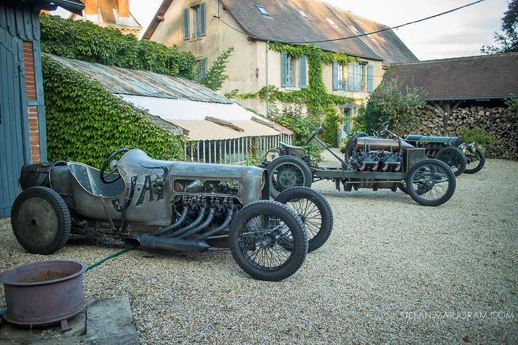 Richard Scaldwell's Sensational JAP V8-Powered GN Cycle Car | The Old Motor