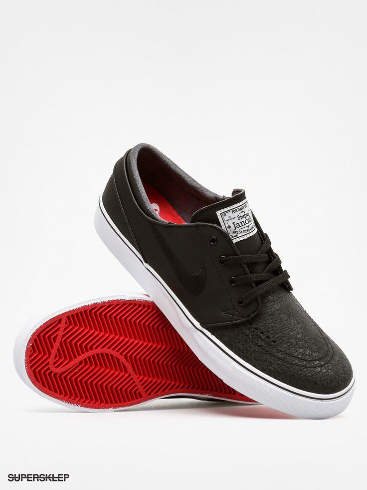 Topánky Nike Stefan Janoski L (black/black/white unversty red)