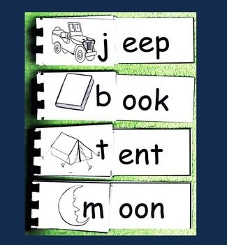 RHYMING WORD FAMILY FLIP BOOKS SAMPLER (K-1-2) FREEBIE - TeachersPayTeachers.com