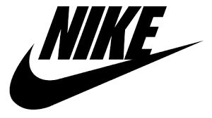 """Kerr - Logo - Nike. The famous """"Swish"""" is a great symbol for movement. Originally created by a college student, Carolyn Davidson who was only paid $35 for her work (in the beginging)"""