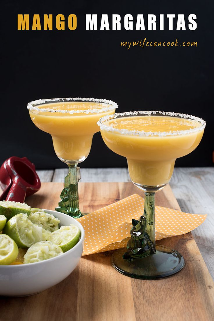 Is it Friday yet? This super easy mango margarita recipe uses fresh ingredients and no mix. It's a nice way to reward yourself after a long week.