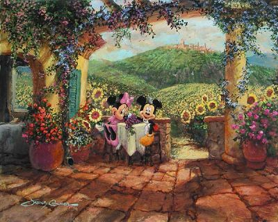 Thomas Kinkade Disney art | , Walt Disney Classics, Jim Shore Disney Traditions, Disney Fine Art ...