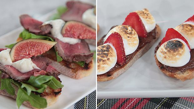 Entertaining made easy-peasy with crostini