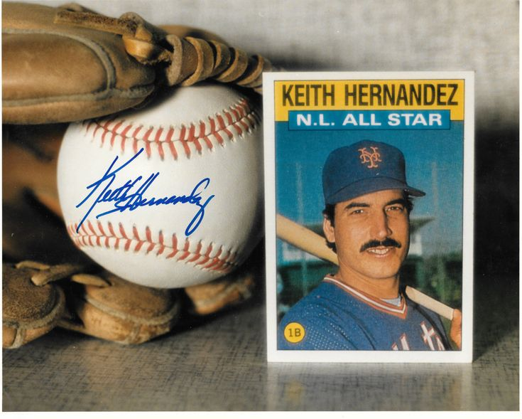 """MY Mets, St Louis Cardinal Hall Of Fame 1st Baseman Keith Hernandez Signed Autographed 8x10"""" Color Photo Collage """"BEST OFFERS""""? Last One!! by SANDJCRAFTSANDTHINGS on Etsy"""