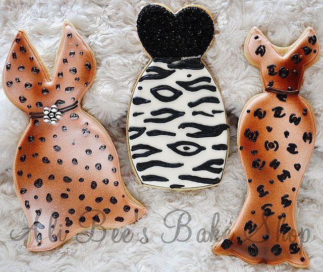 Ali Bee's Bake Shop Animal Print Cookie Dresses...