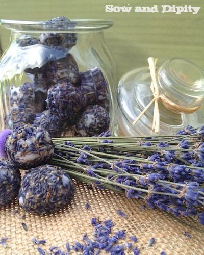 Lavender and Coconut Oil Bath BonBons - so easy to make, Mothers Day Gift?