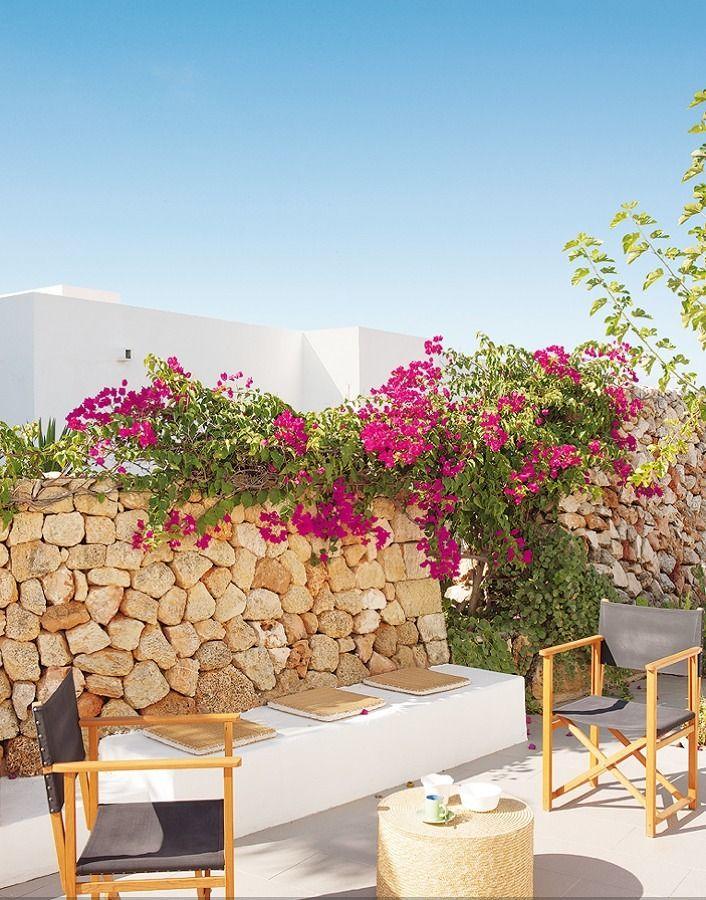 Decoraci n de paredes para patios en pinterest m s de 100 for Ideas para decorar paredes de patios
