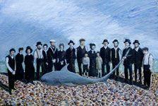 Edward Bridges painting - Shark