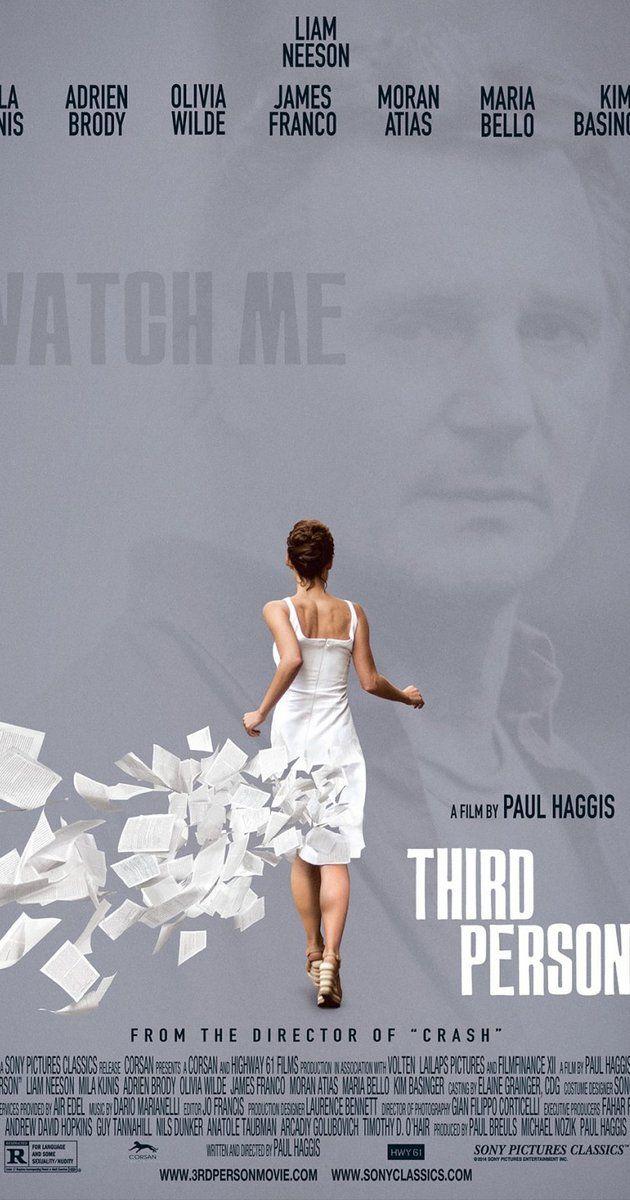 Directed by Paul Haggis.  With Liam Neeson, Mila Kunis, Adrien Brody, Olivia Wilde. Three interlocking love stories involving three couples in three cities: Rome, Paris, and New York.