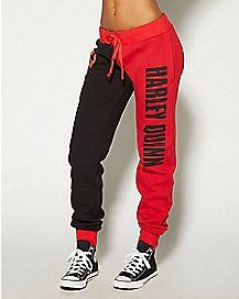 Harley Quinn Jogger ... I need these! I've never needed anything more in my life!