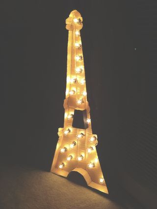 String Lights Eiffel Tower : 1000+ images about Eiffel tower projects on Pinterest Tour eiffel, String art and Paper