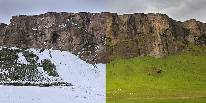 Curso gratuito de Photoshop para crear efectos especiales atmosféricos: niebla, nieve, lluvia, noche, etc.