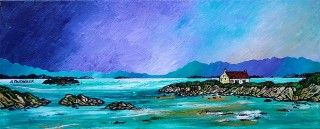 Paintings & Prints – Barra Winter Croft, Isle Of Barra, Scottish Outer…