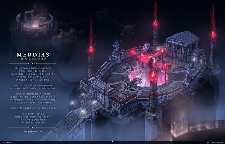GGSCHOOL, Artist 이지수, Student Portfolio for game, 2D Scene Concept Art, www.ggschool.co.kr