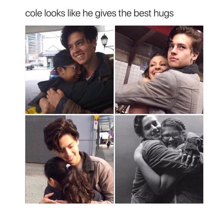 I want a hug from Cole :(
