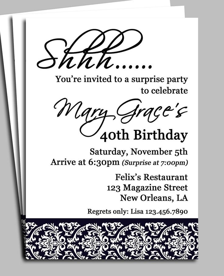17 Best ideas about Free Birthday Invitation Templates on ...