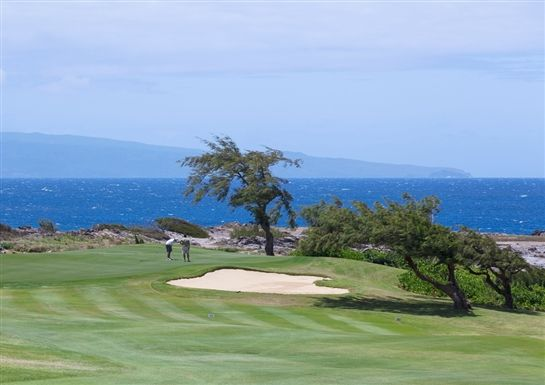 Views from a Kapalua Golf Course in Maui, Hawaii