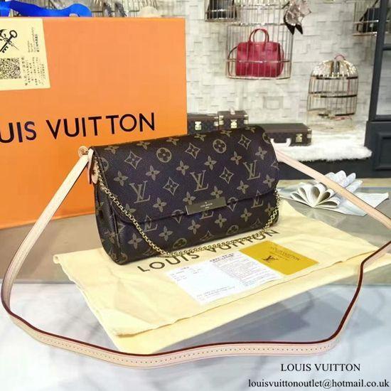 3989016c751f Louis Vuitton M40718 Favorite MM Monogram Canvas