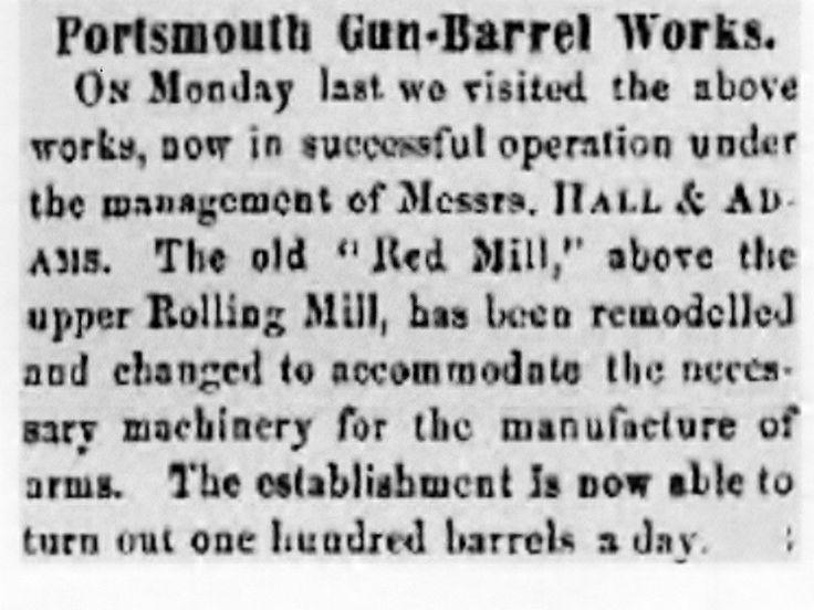 119 best photoshistory of portsmouth ohio images on pinterest article from portsmouth times may 2 1863 the portsmouth gun barrel works was sciox Images