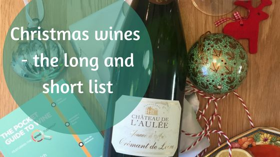 Christmas wines the long and short list