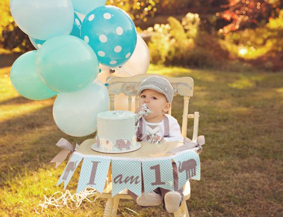 Boy First Birthday Cake Smash Ideas