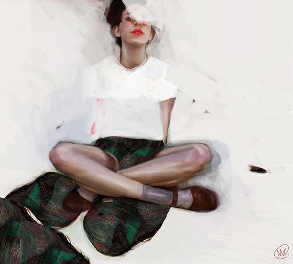 illustration pack 2012-2013 by M Kapinos, via Behance