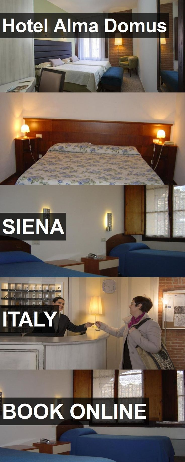 Hotel Hotel Alma Domus in Siena, Italy. For more information, photos, reviews and best prices please follow the link. #Italy #Siena #HotelAlmaDomus #hotel #travel #vacation