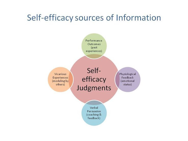relationship between social cognitive theory motivation and self efficacy