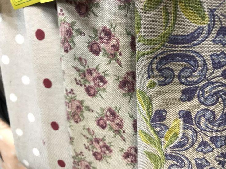 Скатертные декоративные ткани. Италия, 100% хлопок, ширина 280 см.