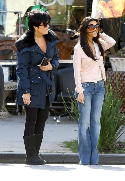 Keeping up with Kris and Kourtney