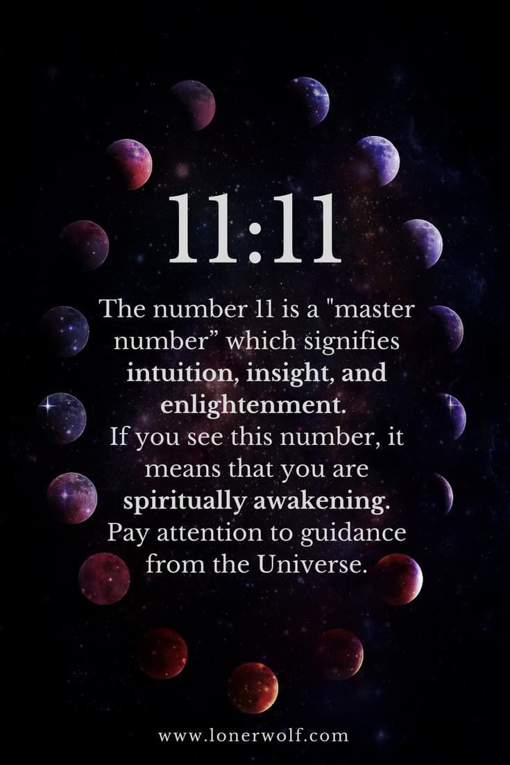 11 11 Meaning: Do You Keep Seeing This Unusual and Powerful Number? via @LonerWolf
