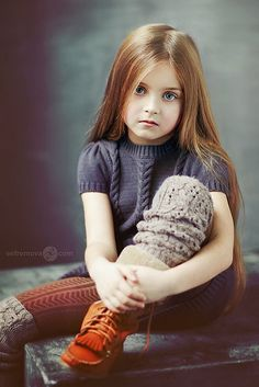 Posh Poses | Kid Pics | Fashionista Beyond Her Years | Deep Earth Tones | Candid Posing