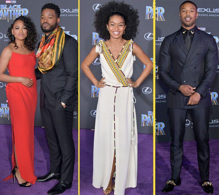 Black #Cosmopolitan CAST Of Movie BLACK PANTHER #BLACKPANTHER, #Boseman, #ChadwickBoseman, #CULTURE, #DanaiGurira, #DanielKaluuya, #Fiction, #Kanzu January 30, 2018: It was all about Black EXCELLENCE at last night's Black Panther LA premiere. We're so IMPRESSED by all the outfits! The upcoming Marvel movie stars Chadwick Boseman, Michael B. Jordan, Lupita Nyong'o, Daniel Kaluuya, Danai Gurira, Martin Freeman, Letitia Wright, Angela Bas... Read more on
