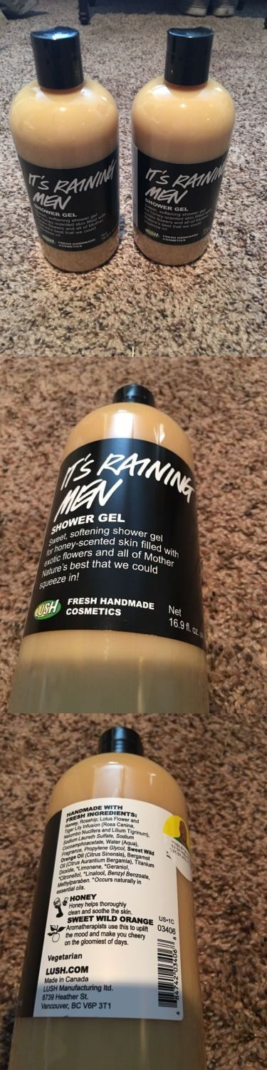 Body Washes and Shower Gels: Lush It S Raining Men Shower Gel (Set Of Two) -> BUY IT NOW ONLY: $50 on eBay!