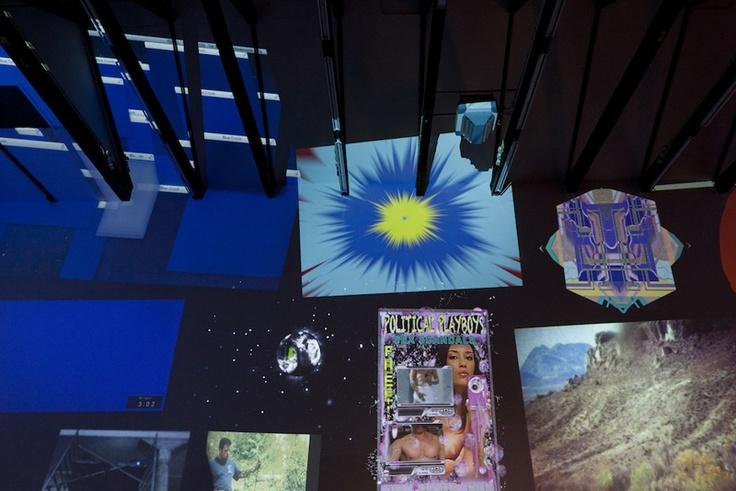 BYOB (Bring your own Beamer--i.e. Projector) even at MOCA.
